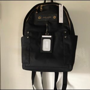 Marc Jacobs New York Black Backpack